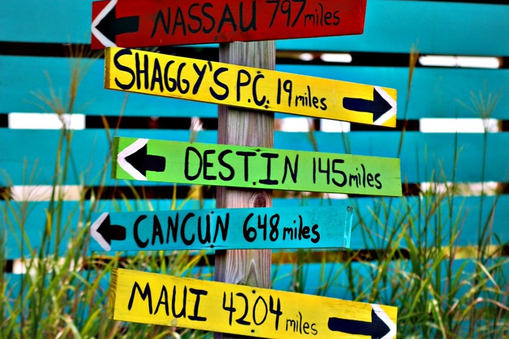 Just pick your next destination!