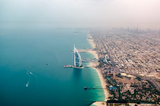 Dubai Sky view by day